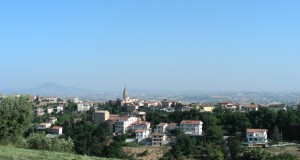 Bellante paese - panorama.