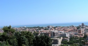 Giulianova lido il panorama.