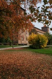 Ottobre, il castello Sforzesco
