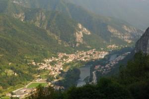 Veduta del paese San Nazario,veduta del paese