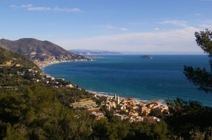 la Liguria e l'isola
