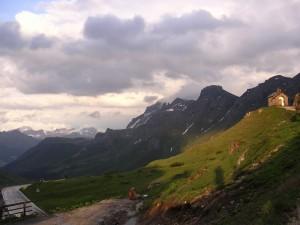 Panorama est dal Pordoi