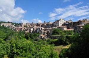 Panorama di Caprarola (VT)
