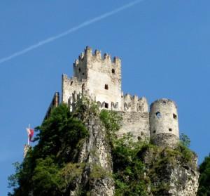Haderburg , il castello di Salorno
