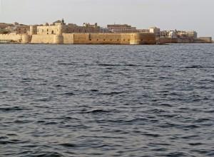 vista panoramica dell' isola di Ortigia (SR)