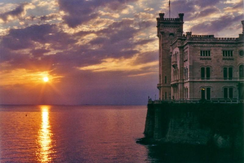 ''Tramonto a Miramare'' - Trieste