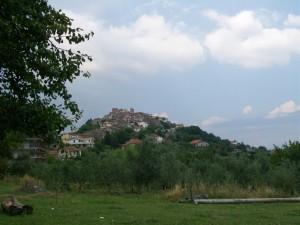 Panorama di Arnara