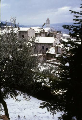 Assisi - La neve