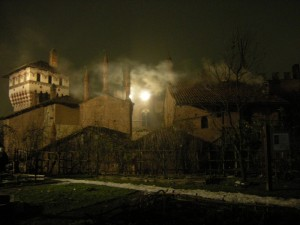Torino, Borgo Medievale di notte