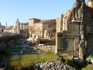 Panoramica del Foro di Augusto