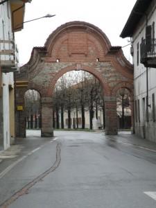 La porta d'ingresso al borgo