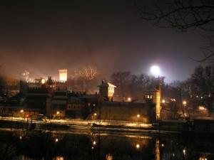 Castello del Valentino di notte