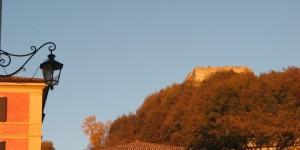 Rocca d'Asolo al tramonto