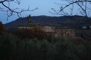 Rocca dei conti Guidi a Cusercoli