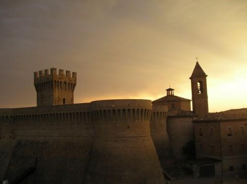 Urbisaglia - Rocca all'alba