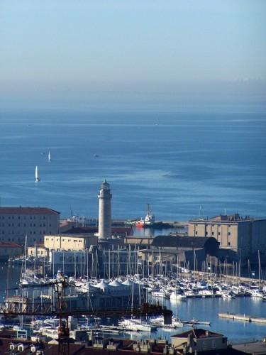 Trieste - veduta della lanterna