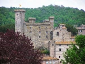 il castello dei Monaldeschi della Cervara