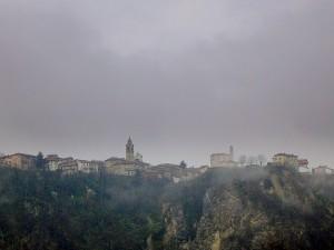 panorama di Rocca Grimalda