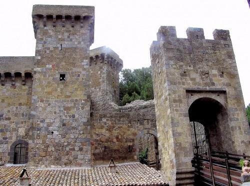 Bolsena - castello di Bolsena , Particolare