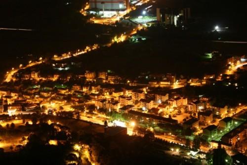 Cassino - Panorama della città di Cassino