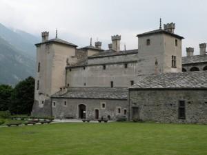 Il castello di Issogne (quello giusto)