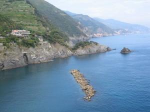 La costa di Monterosso al Mare