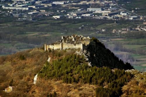 Ocre - Castello di Ocre una settimana prima del Terremoto del 6 Aprile 2009