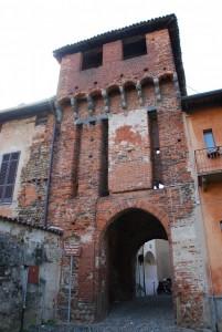 """""""al Ciucarun""""  antico ingresso al castello"""