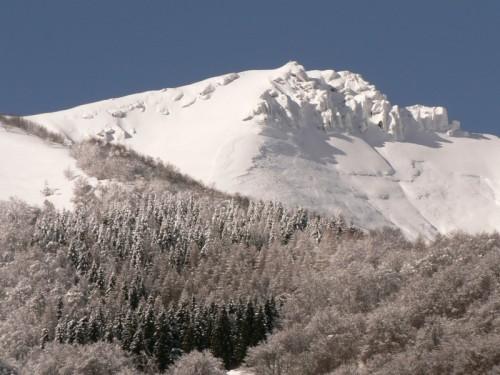 San Fedele Intelvi - panorama del monte Generoso