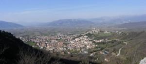 Veduta panoramica su Vairano Patenora