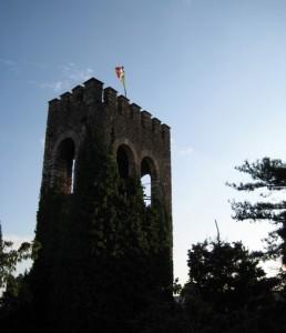Castello di Tregnago all'imbrunire