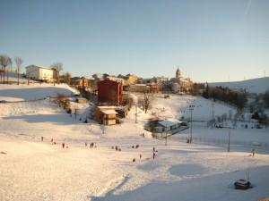 Velo Veronese sotto la neve