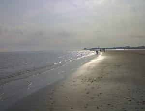 pomeriggio invernale sulla spiaggia di Caorle