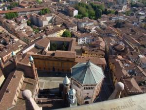 panorama dal Torrazzo