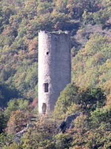 Torre d'avvistamento nella media Valle dell'Aterno - Beffi fraz. di Acciano (AQ)