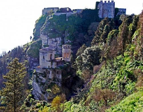 Erice - castello di erice