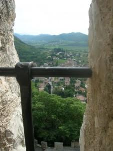 Cison vista da Castelbrando