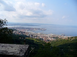 Trieste dall'alto