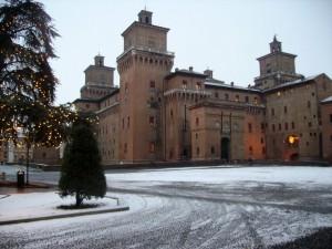 castello in dicembre