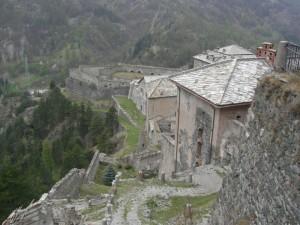 Scorcio del Forte di Fenestrelle