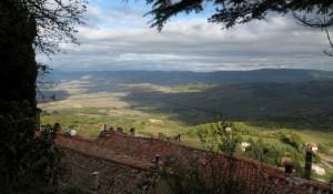 Panorama da Campiglia d'Orcia