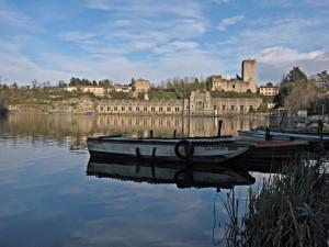 Trezzo sull'Adda: il fiume, la diga, il castello