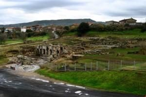 Una veduta dell'area Archeeologica delle Terme Romane.