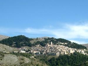 Panorama di Castel del Monte (AQ)