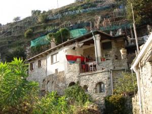 panorama  dal  sentiero di  Monterosso