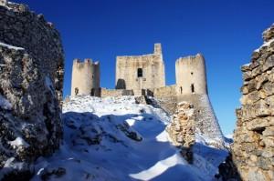 Rocca di Calascio con la Neve
