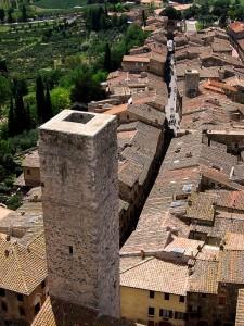 Giù dalla torre…