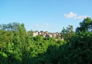 Panorama di Vasanello
