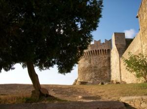 Il castello di Populonia