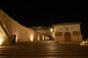 Verso la basilica di San Francesco